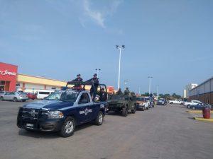 Refuerzan presencia policiaca, acompañada por el Ejercito Mexicano en Tuxtepec
