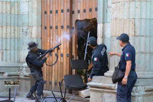 Operativo policiáco
