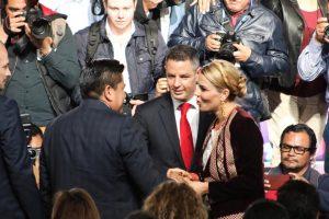 Morales Niño, Invitado de honor al informe del DIF Estatal