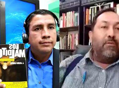 Said Hernández y Jesús Lemus