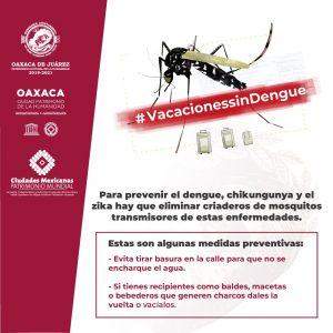Vacaciones sin Dengue