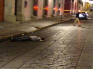 Asesinato en el Centro de Oaxaca