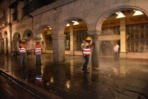 Limpieza del Centro Histórico