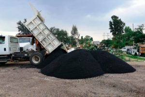 Producción de asfalto