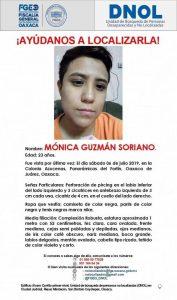 Alerta de la Fiscalía de Oaxaca
