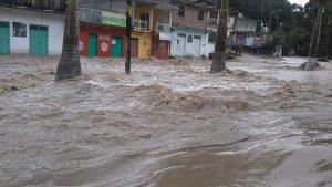 Oaxaca afectado en 29 municipios