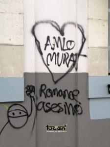 Pintas sobre Avenida Juárez
