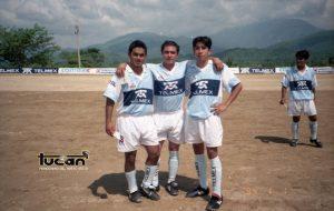 Orlando Méndez, Juvenal Contreras y Said Hernández