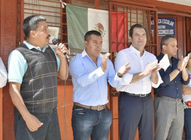 Agente Municipal, Héctor Ramírez Mendoza y Oswaldo García, Edil de Oaxaca de Juárez
