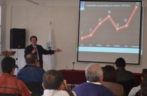 Rogelio Hernández López, Coordinador de la Casa de los Derechos del Periodista