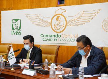 Sesión Consejo Técnico IMSS